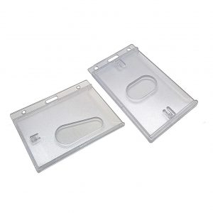 Enclosed ID Card Holders