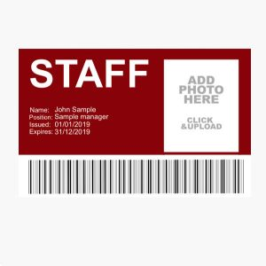 employee id card printing services