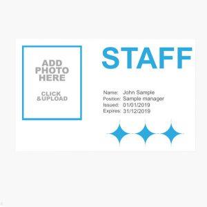 staff id cards uk