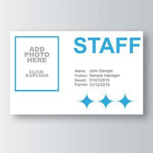 Staff ID card