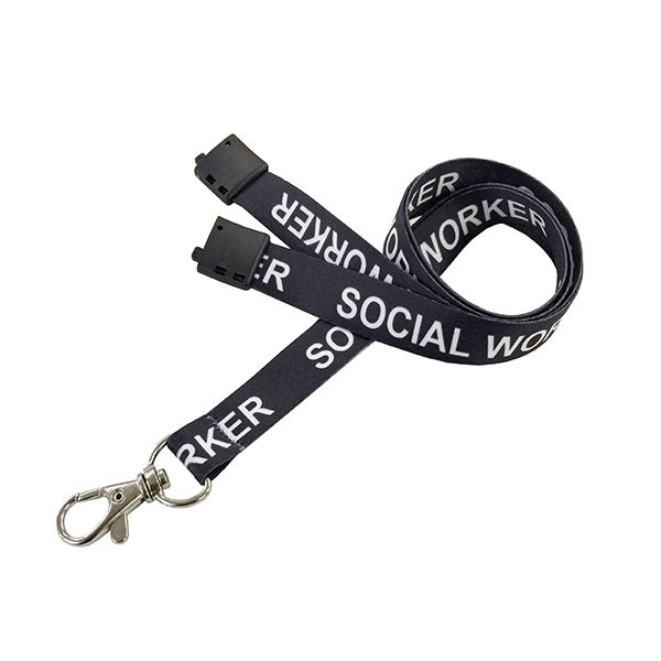 Social Worker Lanyard
