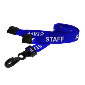 Blue Staff Lanyard