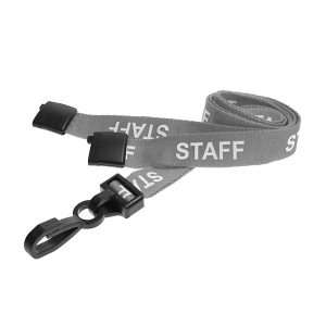 Grey Staff Lanyard