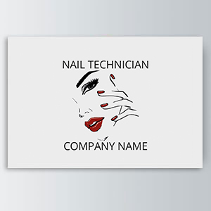 Nail Technician Appointment Cards