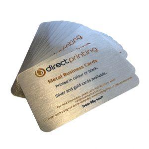 Aluminium Business Cards, metal business cards
