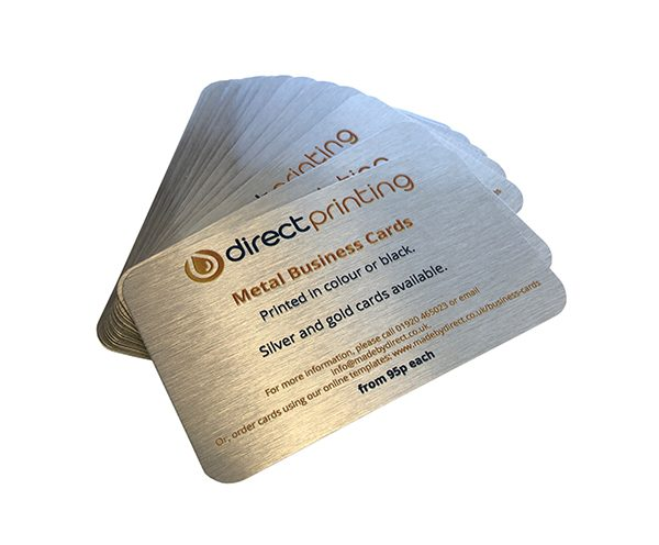 Aluminium Business Cards, metal business cards