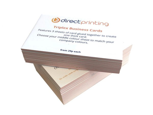 Triplex Business Cards