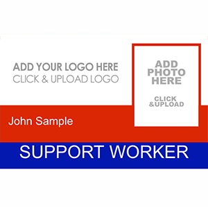 Support Worker ID Card