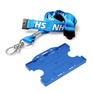 NHS Double Lanyard