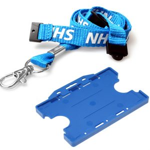 NHS Double Breakaway Lanyard