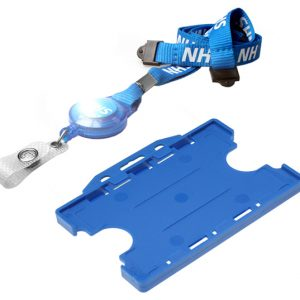 NHS Retractable Lanyard Badge Holder