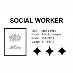 Social Worker Badges