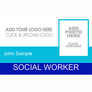 Social Worker ID Card