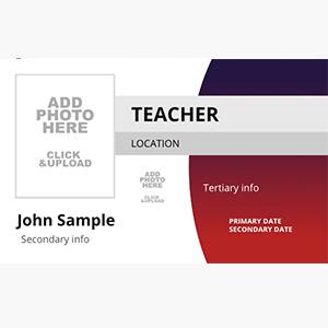 Teacher ID Card