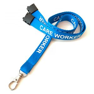 care worker lanyard
