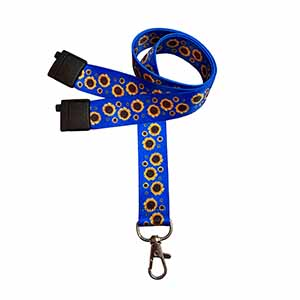 Sunflower Hidden Disability Lanyard