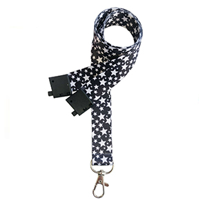 Black Star Lanyards